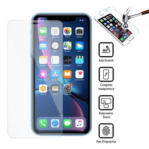 Grote foto iphone xs max screen protector tempered glass film 076612917 telecommunicatie mobieltjes