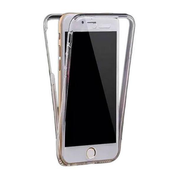 Grote foto iphone 6 plus full body 360 transparant tpu silicone hoesje telecommunicatie mobieltjes