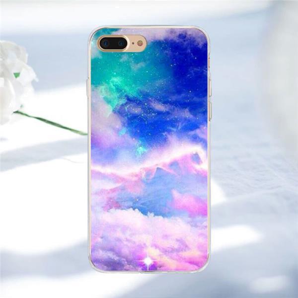 Grote foto iphone se space star case cover cas soft tpu hoesje 076612 telecommunicatie mobieltjes