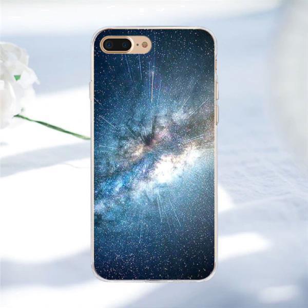 Grote foto iphone 7 plus space star case cover cas soft tpu hoesje 07 telecommunicatie mobieltjes