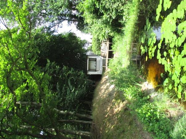 Grote foto gemeubileerde stacaravan chalet te huur op rustig park nabij vakantie campings