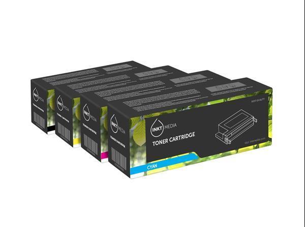 Grote foto geschikt canon aanbieding 046h bk c m y zwart 3 kleuren computers en software printers