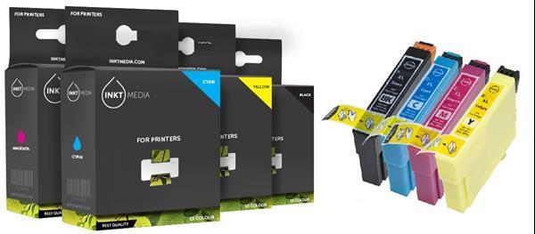 Grote foto geschikt epson t1291 tot t1294 t1295 set van inktmedia computers en software printers