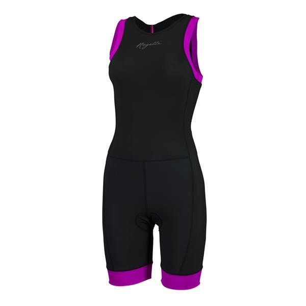 Grote foto taupo dames triatlon suit zwart roze kleding heren sportkleding