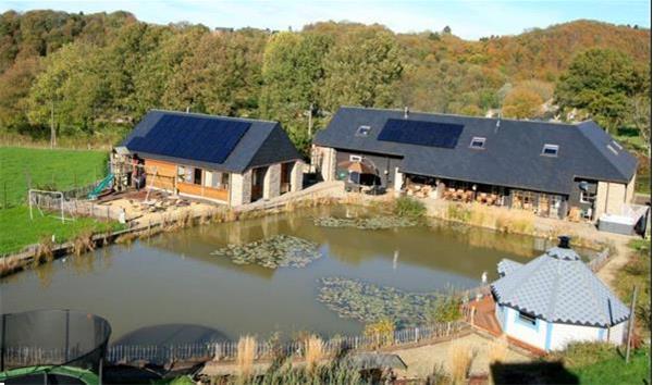 Grote foto landhuis voor 20 p. met binnenzwembad en jacuzzi vakantie belgi