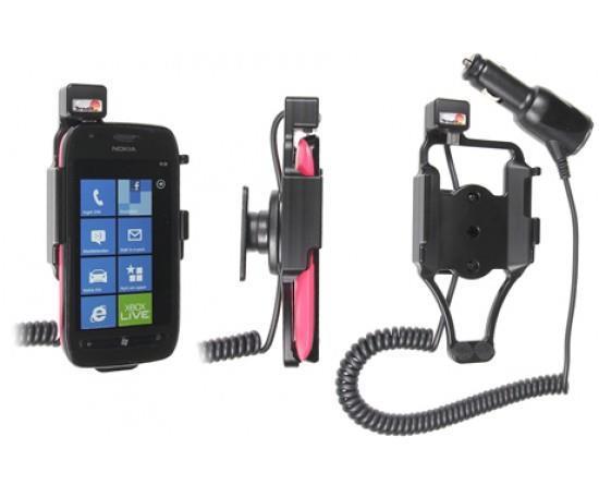 Grote foto brodit houder lader nokia lumia 710 sig.plug auto onderdelen accessoire delen