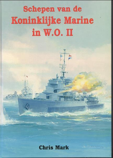 Grote foto schepen van de koninklijke marine in w.o. ii boeken oorlog en militair