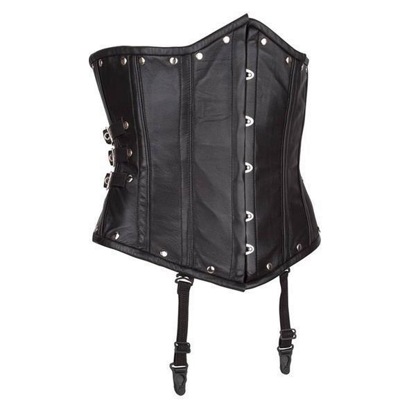 Grote foto echt leren corset model 06 waist cincher t m 10xl kleding dames grote maten