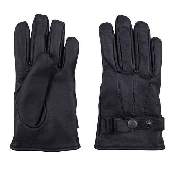 Grote foto korte leren handschoenen kleding dames lederen kleding