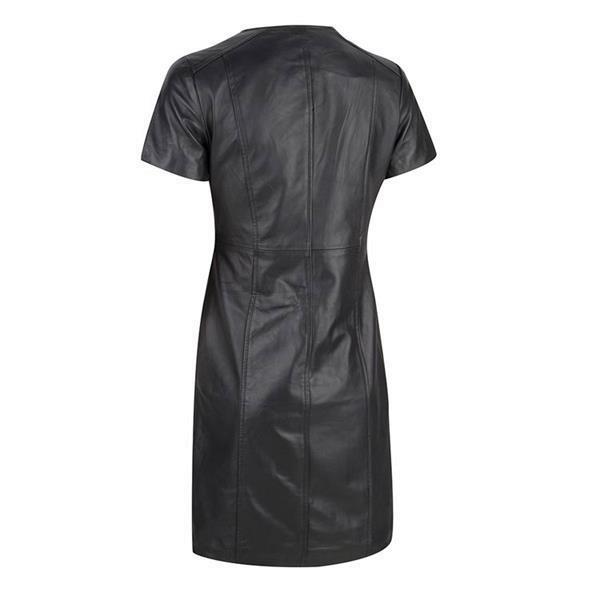 Grote foto leren fetish party jurk in small t m 6xl kleding dames lederen kleding