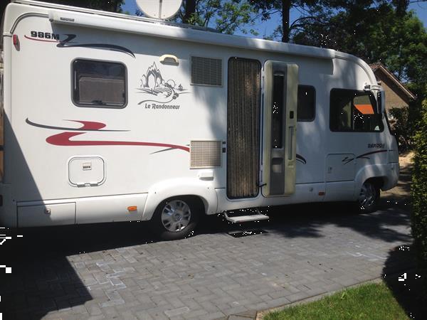 Grote foto rapido integraal 316 cdi randonneur 985m 2004 aut. caravans en kamperen campers