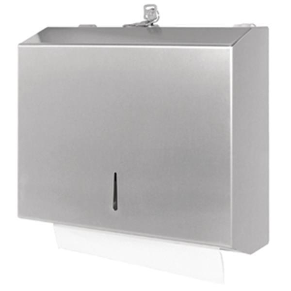 Grote foto jantex gepolijste rvs handdoek dispenser diversen overige diversen