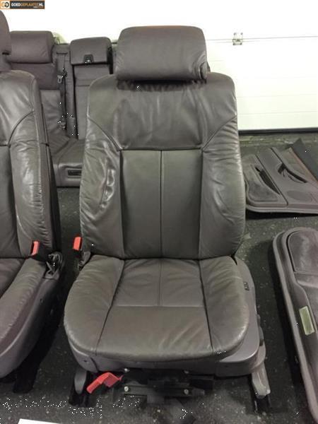 Grote foto volledig lederen comfort interieur bmw 7 serie e38 paars auto onderdelen overige auto onderdelen