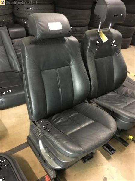 Grote foto volledig lederen comfort interieur bmw 7 serie e38 zwart auto onderdelen overige auto onderdelen