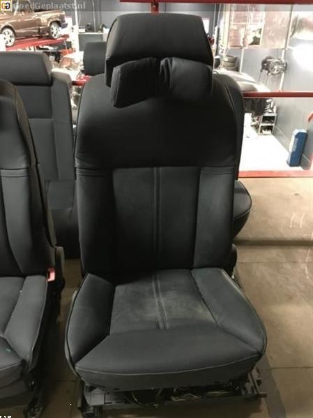 Grote foto volledig lederen comfort interieur bmw 7 serie e65 zwart auto onderdelen overige auto onderdelen