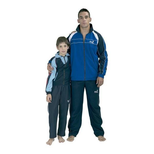Grote foto trainingspak jeugd blauw kinderen en baby overige
