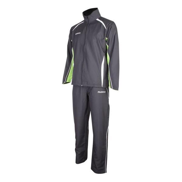 Grote foto trainingspak zwart oranje groen kleding heren sportkleding