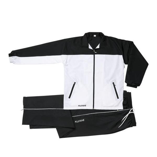 Grote foto trainingspak zwart wit kleding heren sportkleding