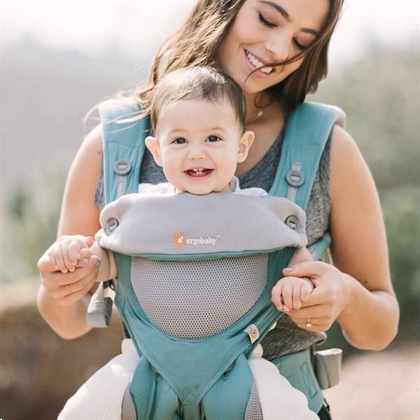 Grote foto 4 positie draagzak 360 carrier cool air icy mint kinderen en baby overige babyartikelen