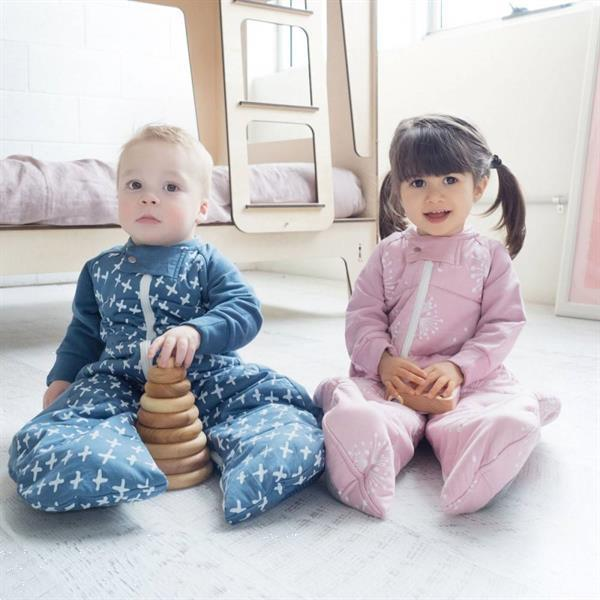 Grote foto sleepsuit organic cotton navy cross jersey winter 3.5 to kinderen en baby overige