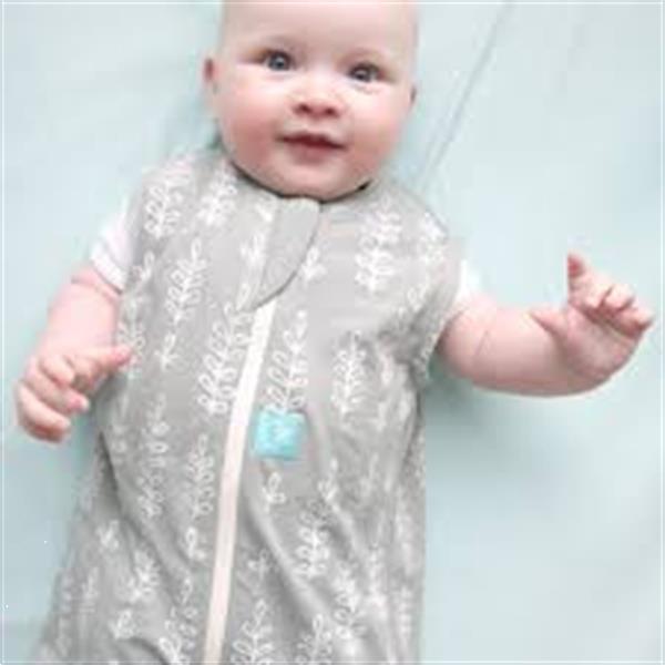 Grote foto organic cotton grey fern jersey winter slaapzak 2.5 tog kinderen en baby overige