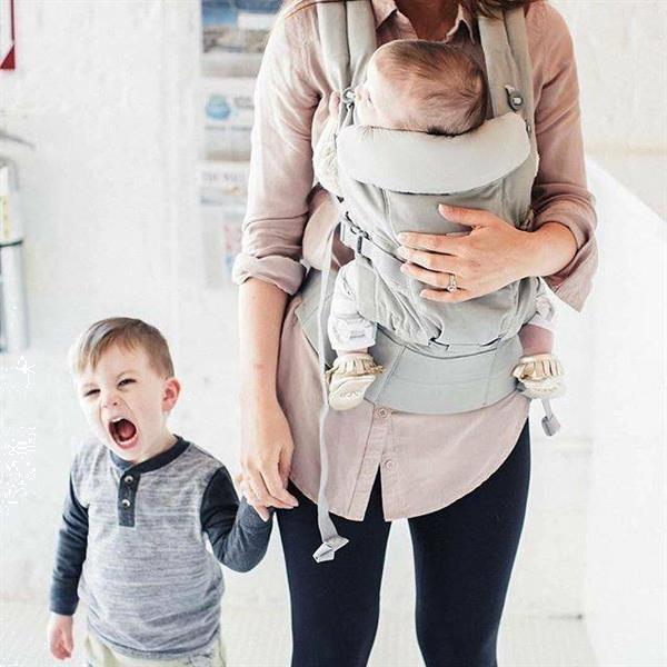Grote foto babydraagzak adapt pearl grey kinderen en baby overige babyartikelen