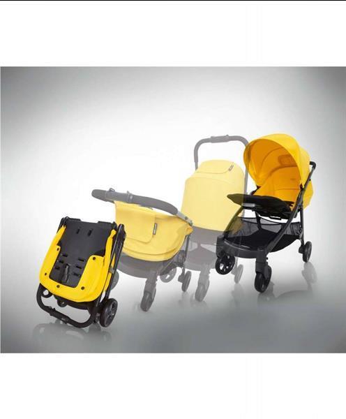 Grote foto armadillo liner stripe all weather kinderwagen buggy kinderen en baby kinderwagens