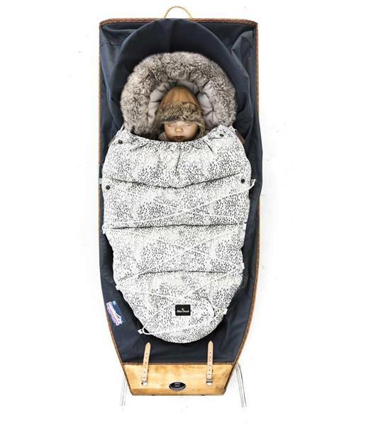 Grote foto zeer luxe voetenzak dots of fauna kinderen en baby overige
