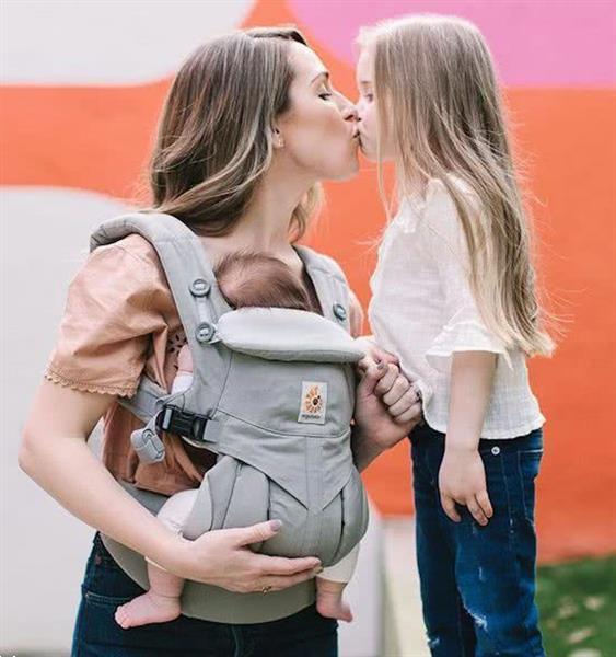 Grote foto carrier 4p 360 omni pearl grey 0m kinderen en baby overige babyartikelen