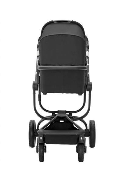 Grote foto spider de ideale all terrain wagen zwart zwart frame kinderen en baby kinderwagens
