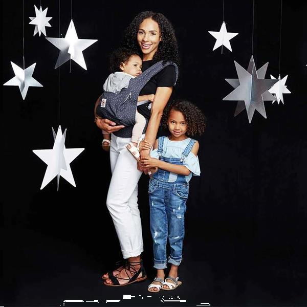 Grote foto 3p babydraagzak original phoenix starry grey kinderen en baby overige babyartikelen