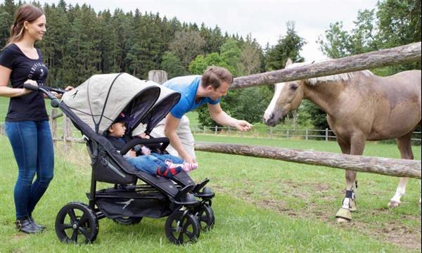 Grote foto twin trail premium line tweelingwagen kinderen en baby kinderwagens