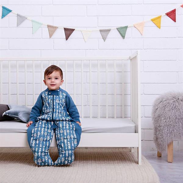 Grote foto 3.5 tog winter sleepsuit bag midnight arrows kinderen en baby overige