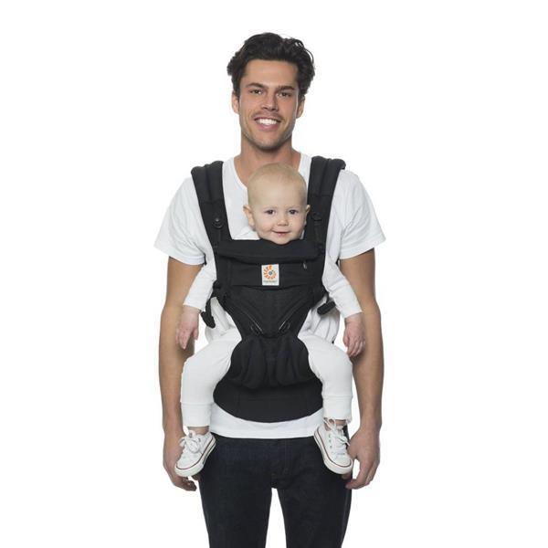 Grote foto babycarrier omni 360 cool air mesh onyx black kinderen en baby overige babyartikelen
