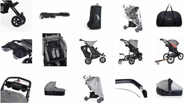 Grote foto joggster trail fossil kinderen en baby kinderwagens