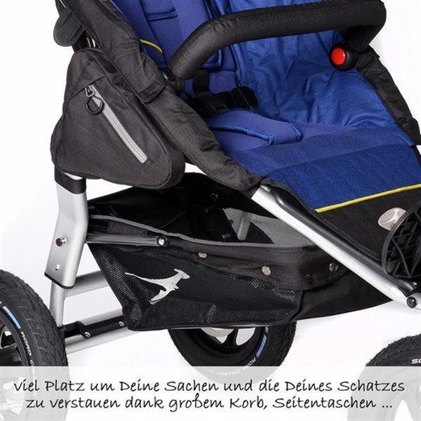 Grote foto joggster adventure twilight blue kinderen en baby kinderwagens