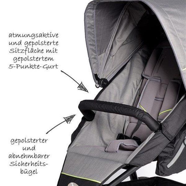 Grote foto joggster adventure quiet shade kinderen en baby kinderwagens