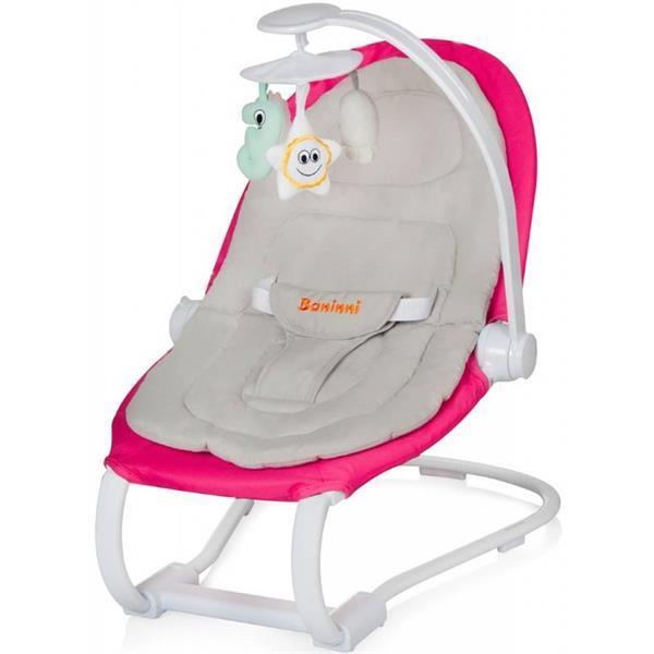 Grote foto zeno nesto bouncer relax wipstoel pink kinderen en baby wipstoeltjes
