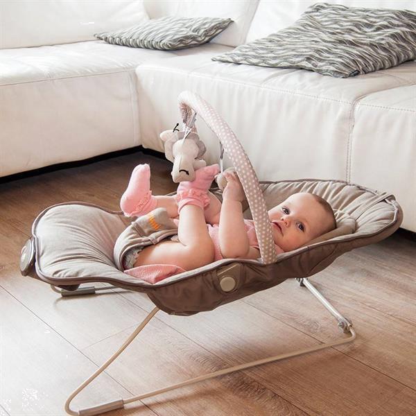 Grote foto nina mina bouncer relax wipstoel mint vosje kinderen en baby wipstoeltjes
