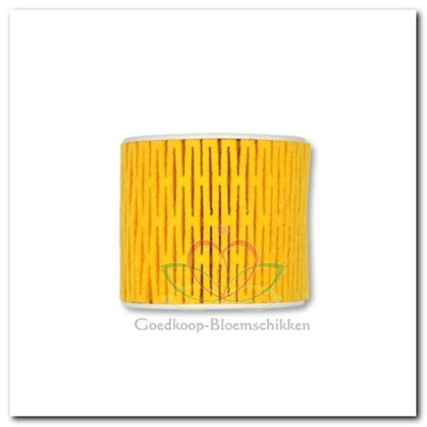 Grote foto viltlint viltband netband geel 911 lint viltband verzamelen overige verzamelingen