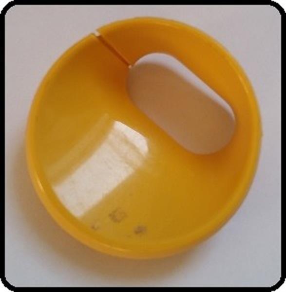 Grote foto dyson dc08 dc08t kabelhouder geel gebruikt witgoed en apparatuur stofzuigers