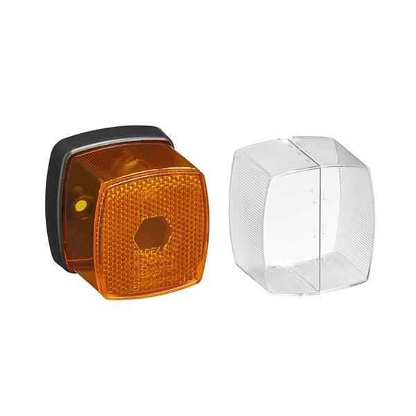 Grote foto markeringslamp oranje 66x62 auto diversen aanhangers