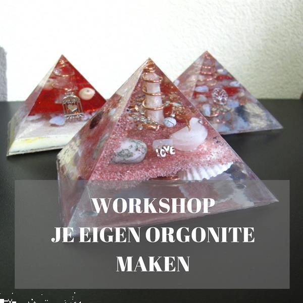 Grote foto workshop je eigen orgonite piramide maken paranormaal spirituele sieraden