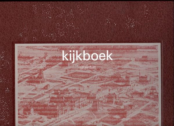 Grote foto kijkboek rotterdam 35x30x1 cm. boeken fotografie en design