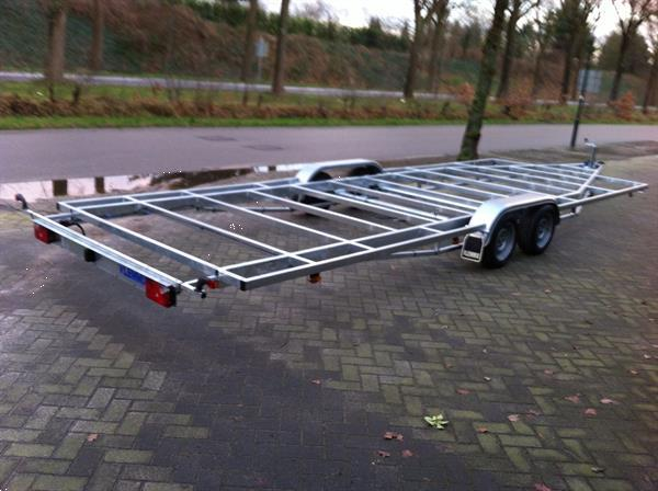 Grote foto tinyhouse tinyhouses chassis versch. afm. auto diversen aanhangers