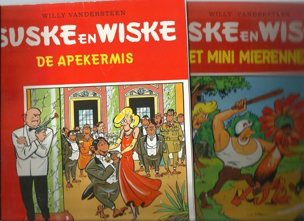 Grote foto 14x suske en wiske boeken stripboeken