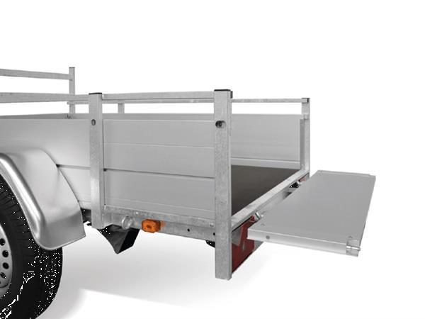 Grote foto anssems bsx 1350251 x 130 1350 kg open aanhangwagen auto diversen aanhangers