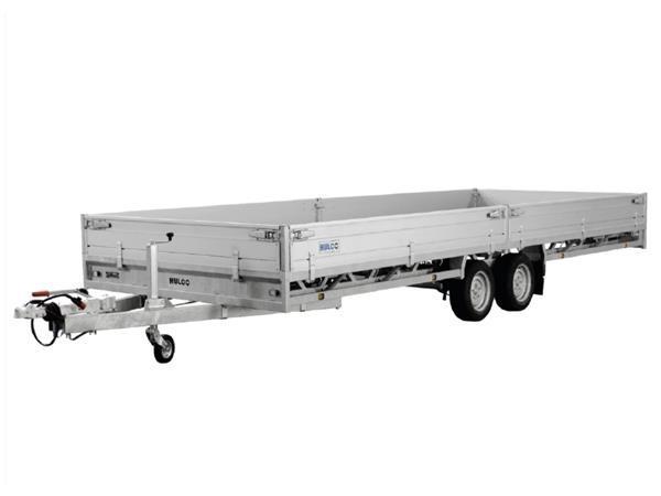 Grote foto hulco medax 2 3000502 x 203 3000 kg open aanhangwagen auto diversen aanhangers