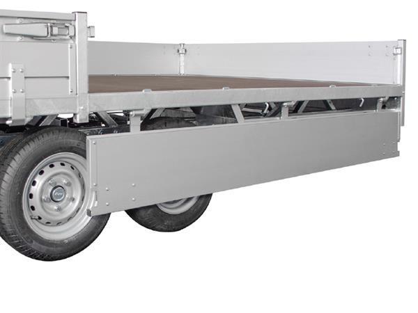 Grote foto hulco medax 2 3500611 x 203 3500 kg open aanhangwagen auto diversen aanhangers