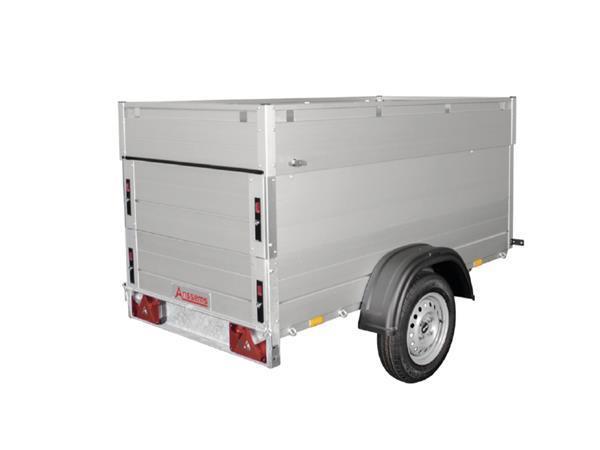 Grote foto anssems gt 750 vt1201 x 101 x 83 750 kg bagage aanhangwagen auto diversen aanhangers